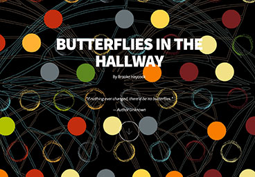Butterflies in the Hallway