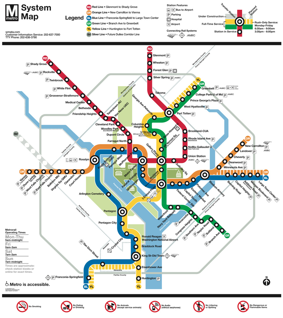 The Flawed History of Metrorail's Experience Design | Design ... on